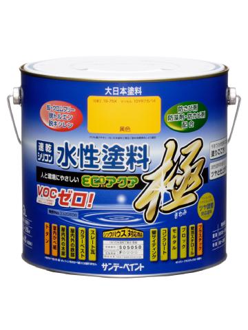サンデーペイント 水性多目的塗料 つやあり 水性エコアクア 3L 標準色 【送料無料】の画像