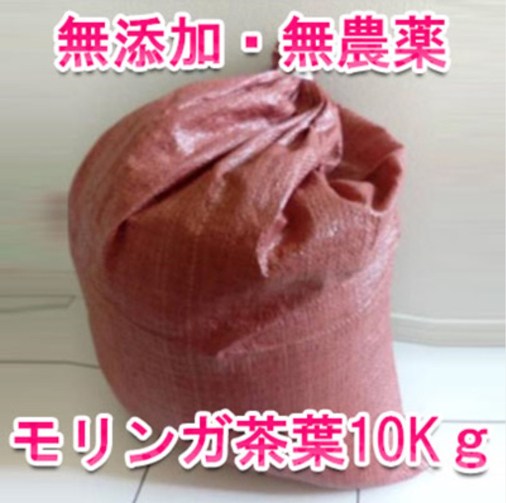 モリンガ茶葉 10kg 代理店価格画像