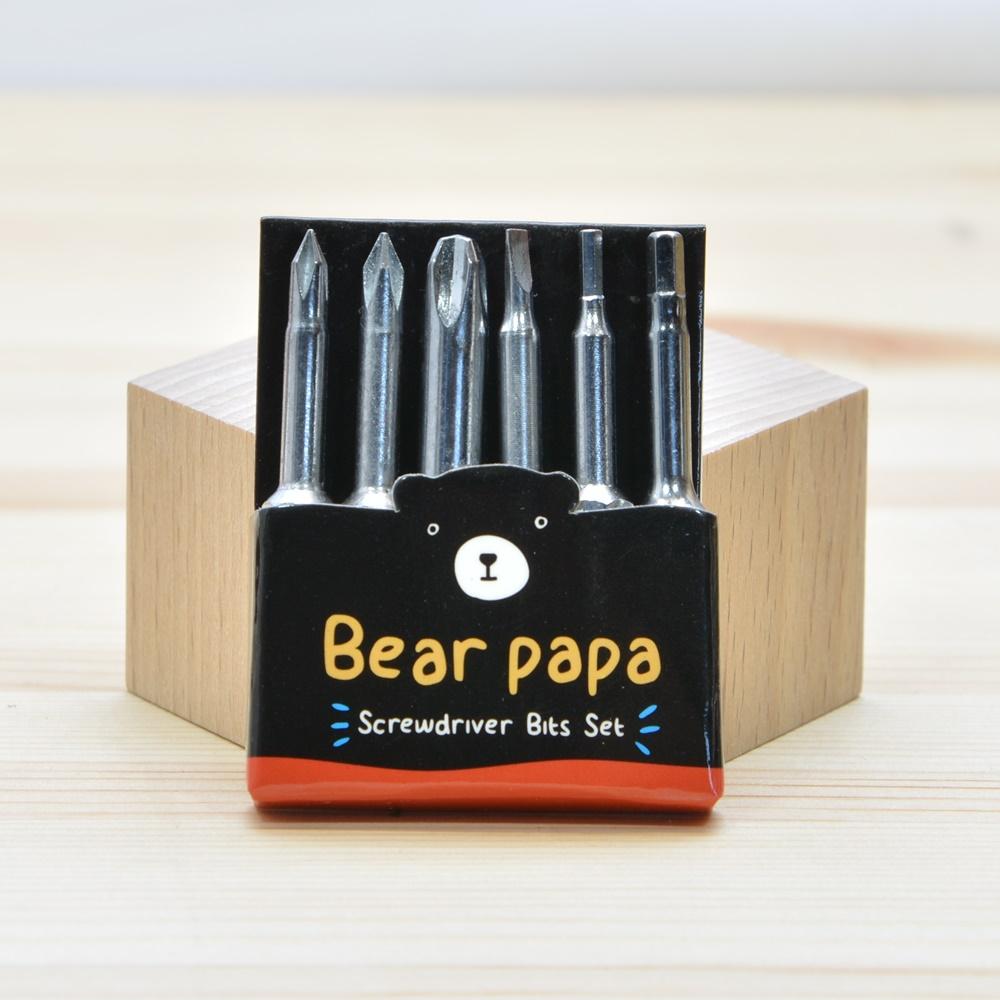 Bear Papa用 追加ビット6本セット画像