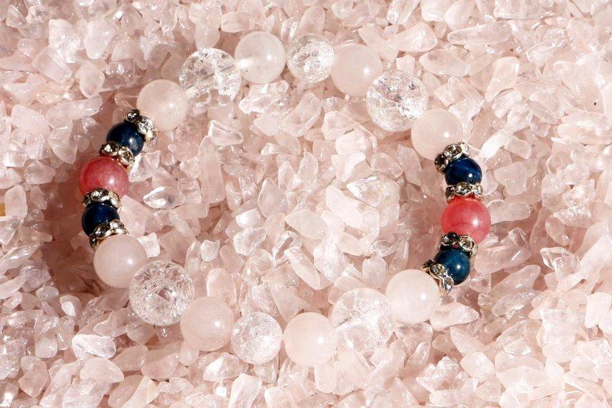 恋愛成就 ☆ Rose Color Stone 〜 アパタイト・インカローズ 〜 ¥8,000の画像