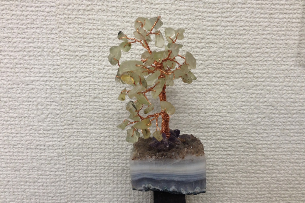 断シャリ助っ人〜 ジェムストーンツリー プレナイト 20cm 〜 ¥7,000の画像