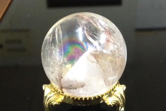 最高の輝き〜 最高級 水晶 40mm 〜 ¥30,000の画像