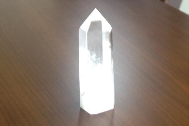 お守り〜 水晶 ポイント 中 〜 ¥2,000の画像