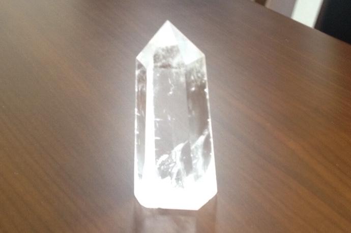 いつもそばにお守りを〜 水晶 ポイント 大 〜 ¥3,000の画像
