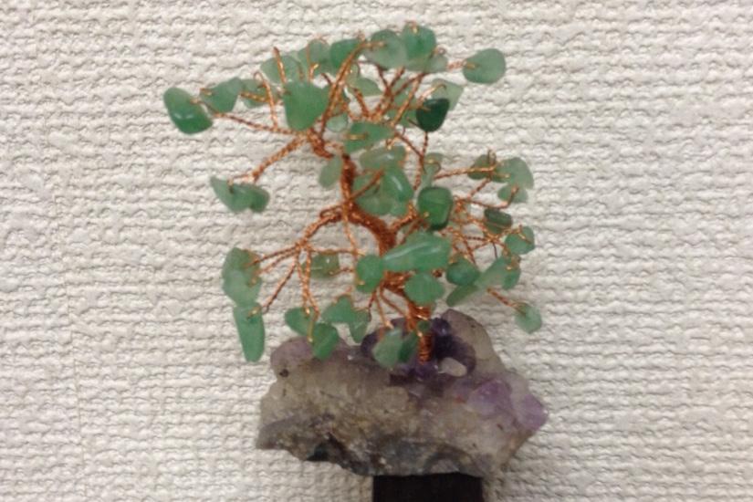 大自然の力〜 ジェムストーンツリー アベンチュリン 10cm 〜 ¥2,700の画像