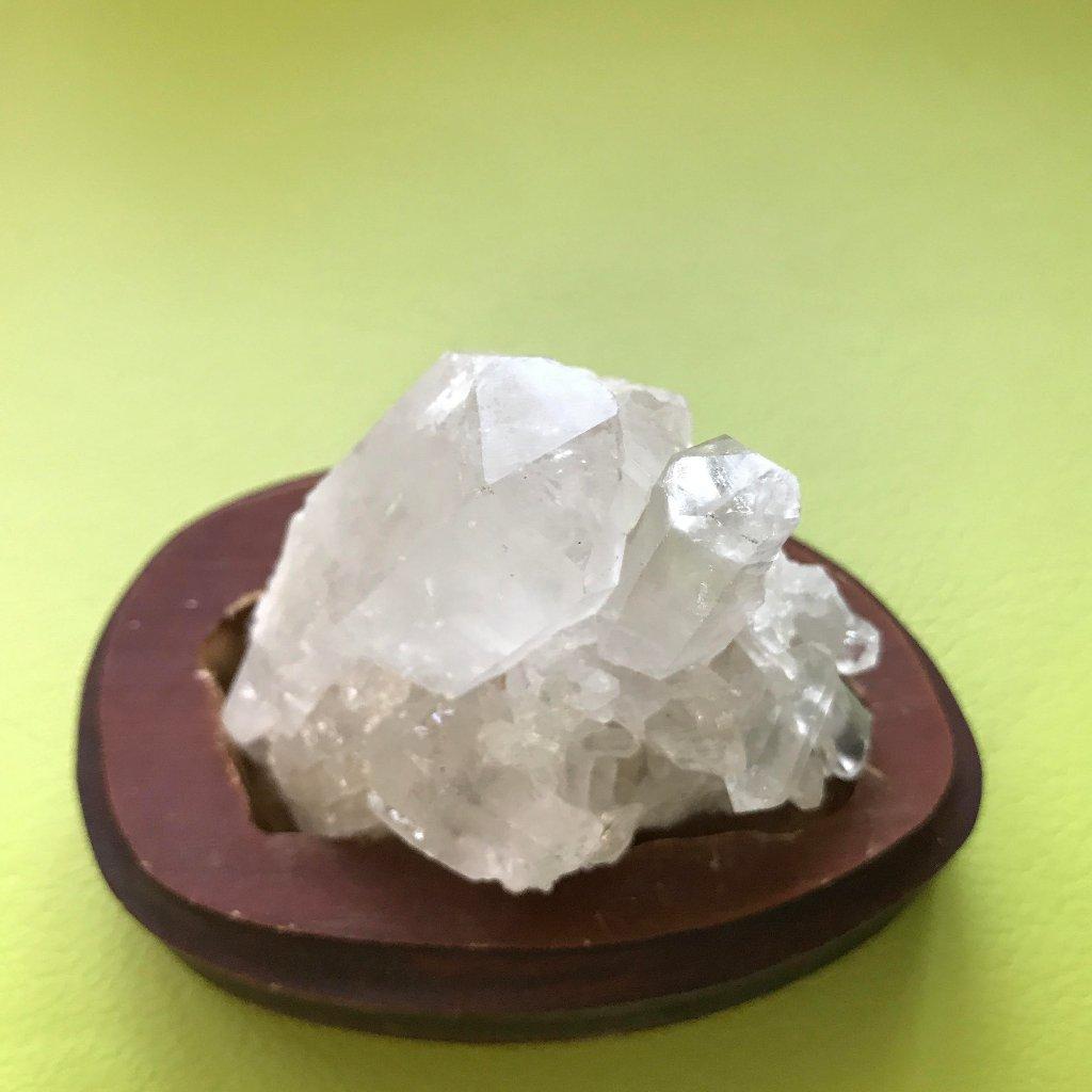 ブラジル産~水晶クラスター300g~プログラム入り~¥8,000円の画像