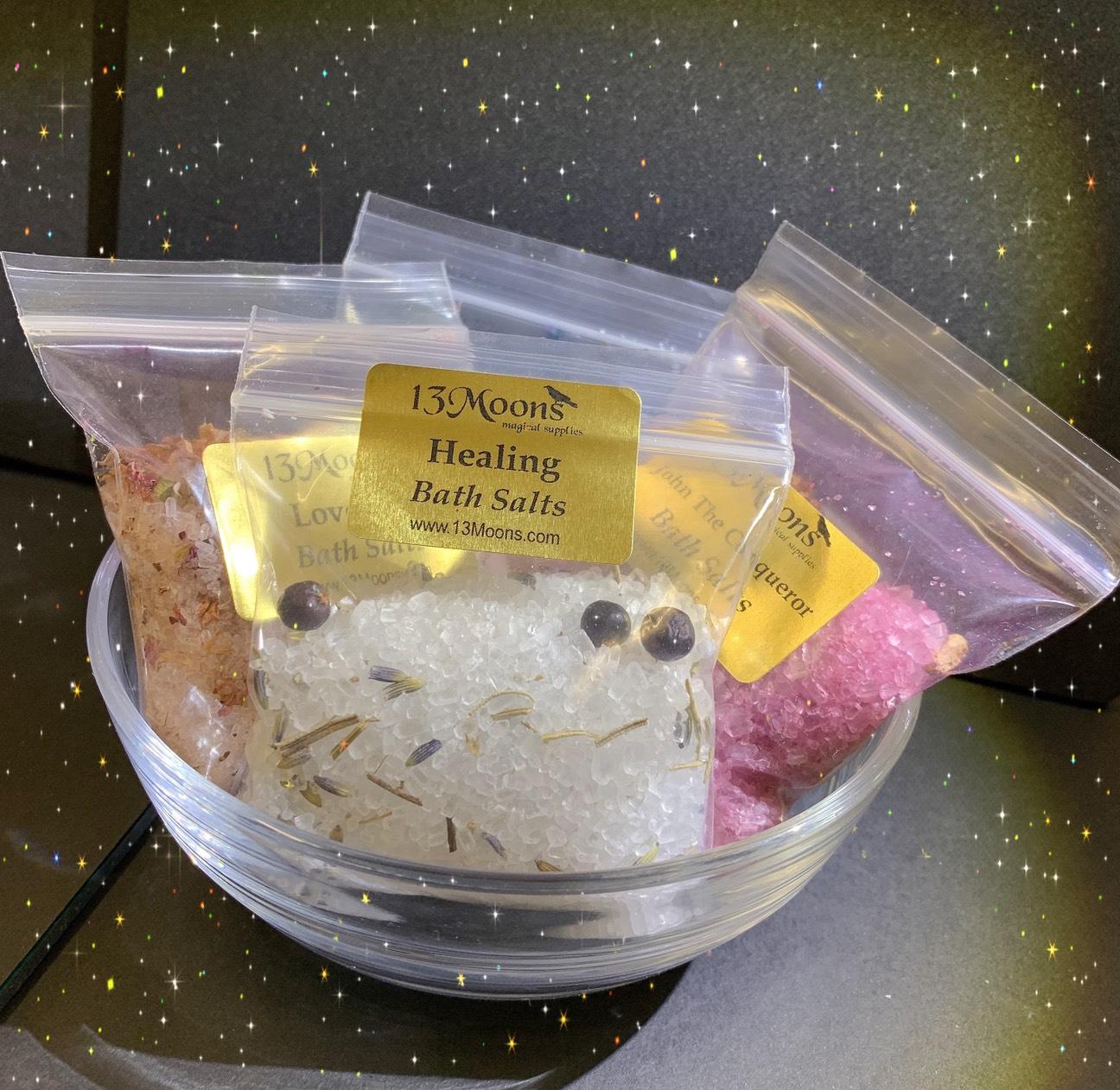 Organic Bath Salts ~オーガニックバスソルト~画像