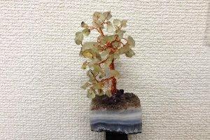 ネガティブさよなら~〜 ジェムストーンツリー プレナイト 10cm 〜 ¥2,700の画像