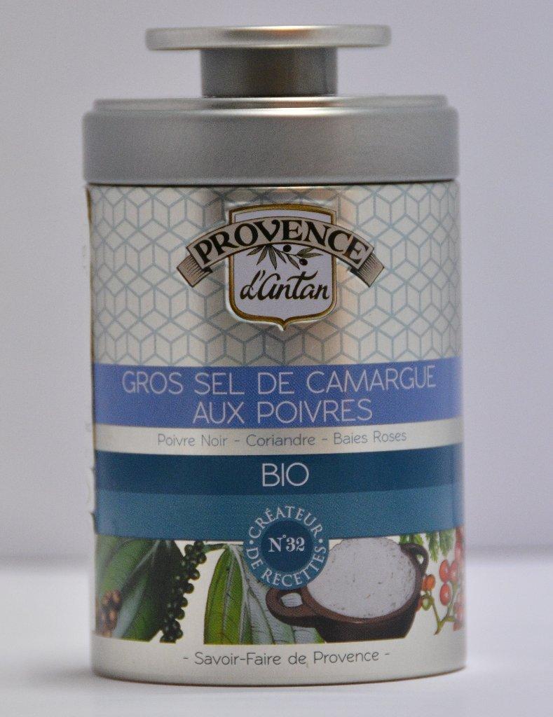 有機 カマルグ産の塩とプロヴァンスのハーブ(粗塩)の画像