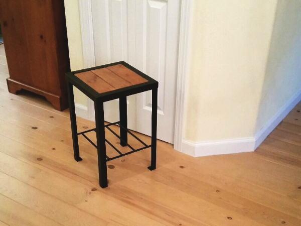 サイドテーブル(アイアン家具)の画像