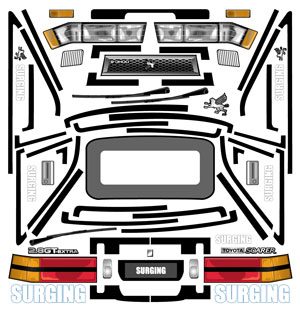 Z10 SOARER用ステッカーの画像