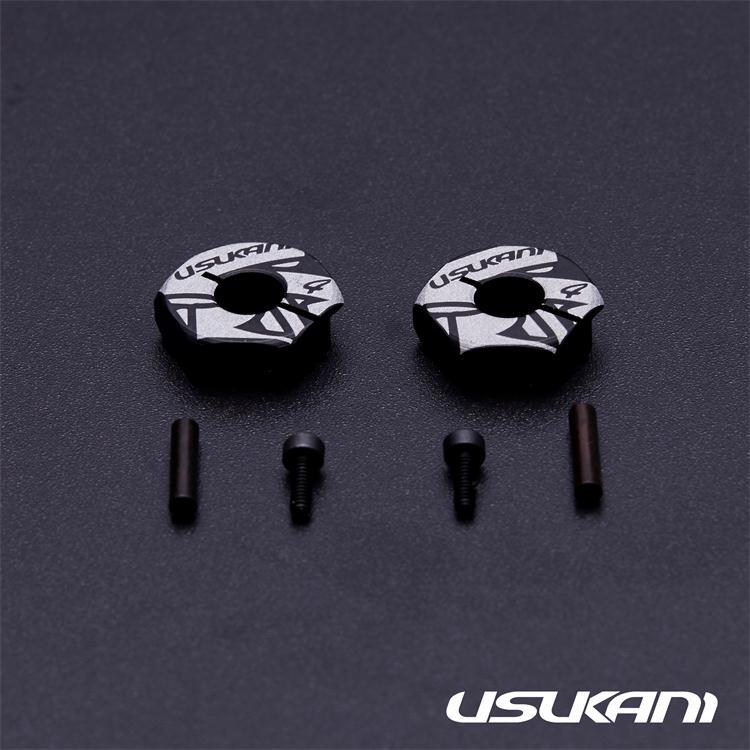 【新製品予約受付中】USUKANI アルミクランプホイルハブ 2ヶ入り画像