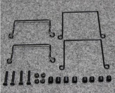 Usukani PDS-02 バッテリーマウント (ブラック)の画像