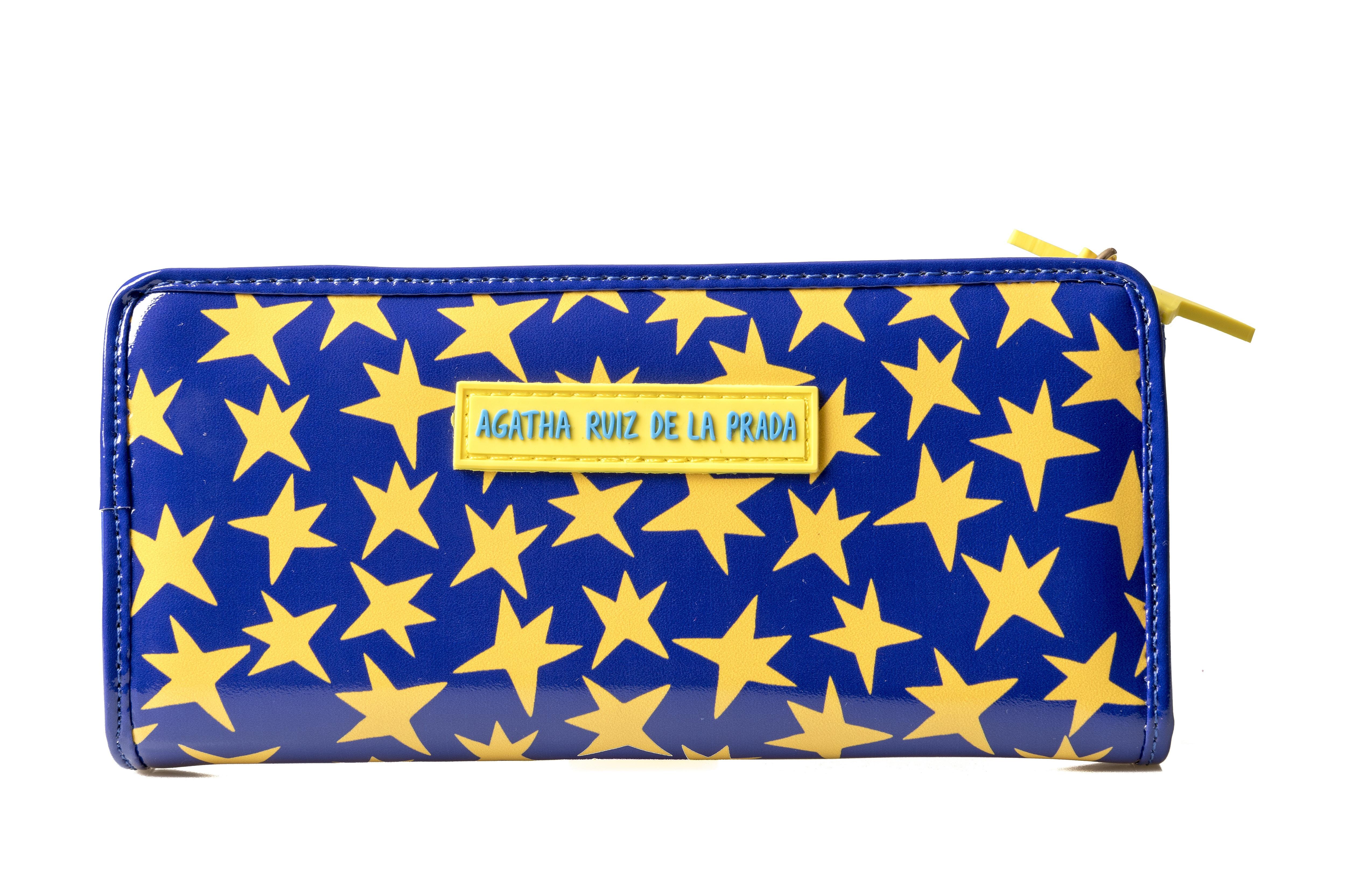 長財布 お札縦入れ型 スター アガタ・ルイス・デ・ラ・プラダ( BILLETERO Estrella y star - Agatha Ruiz de la Prada)  画像