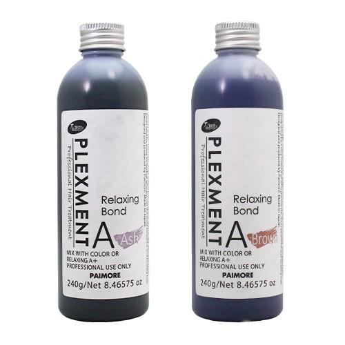 【注目・グリオキシル酸、ジカルボン酸】褐色しないフォルムコントロールプレックス「リラクシングボンドA ブラウン/アッシュ240」単品画像