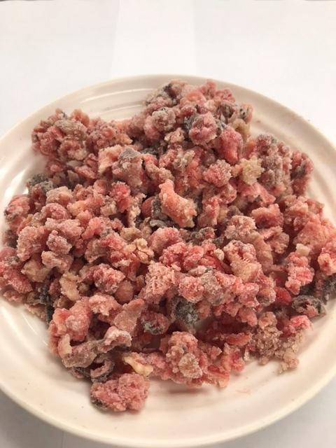🐮 牛タン皮-粗挽きミンチ<アメリカ産・非加熱>【1㎏】(500g×2)画像