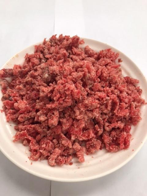 🐴 馬肉-粗挽きミンチ<アルゼンチン、カナダ、メキシコ産・非加熱>【1㎏】(500g×2)画像