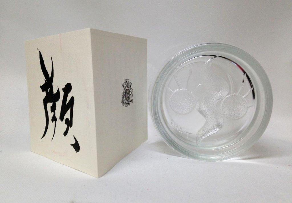 【1970年代デッドストック品】岡本太郎 ロバートブラウン ロックグラス  単品の画像