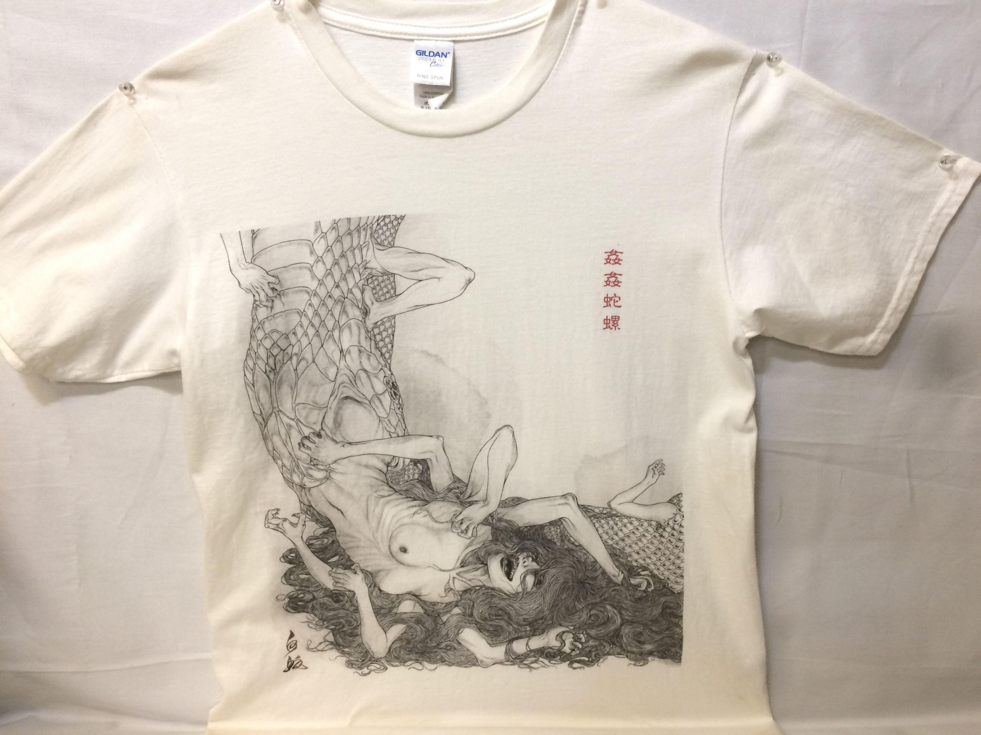 姦姦蛇螺Tシャツ 【身巳】画像