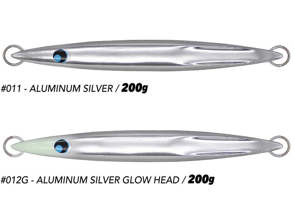 ウロコジグ 200g アルミニウムカラー画像