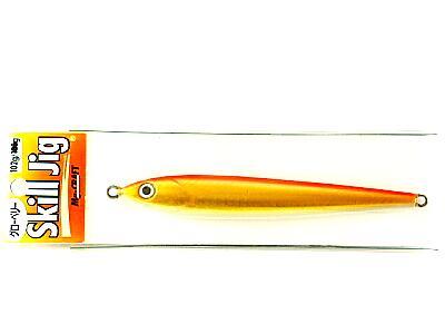 スキルジグ 102g 矢羽 オレンジゴールド グローベリー画像