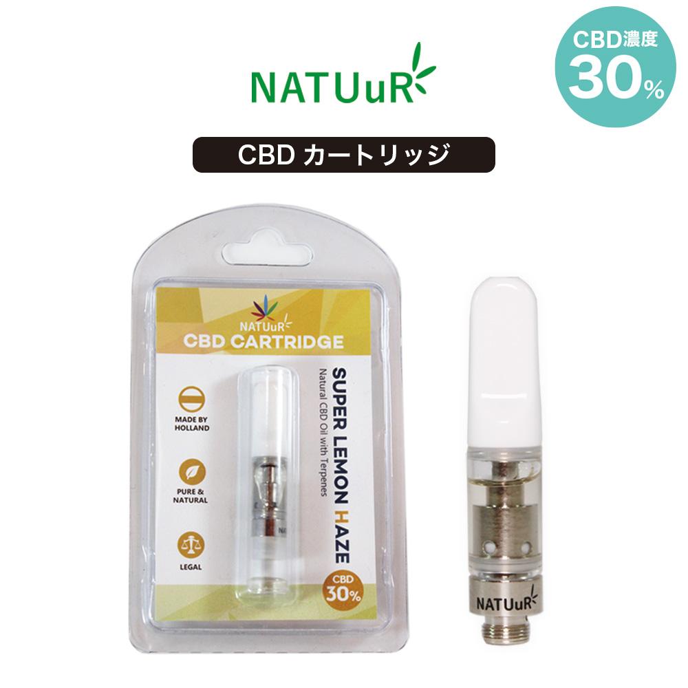 【NATUuR ナチュール】NATUuR Oil Cartridge 0.5ml 30% 画像