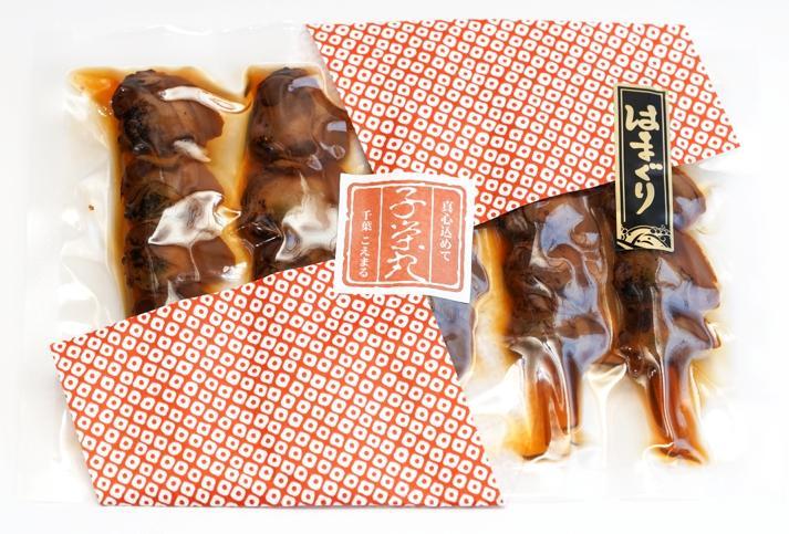 創業以来変わらぬ味と製法で仕上げた名産品【焼はまぐり5串入り】の画像