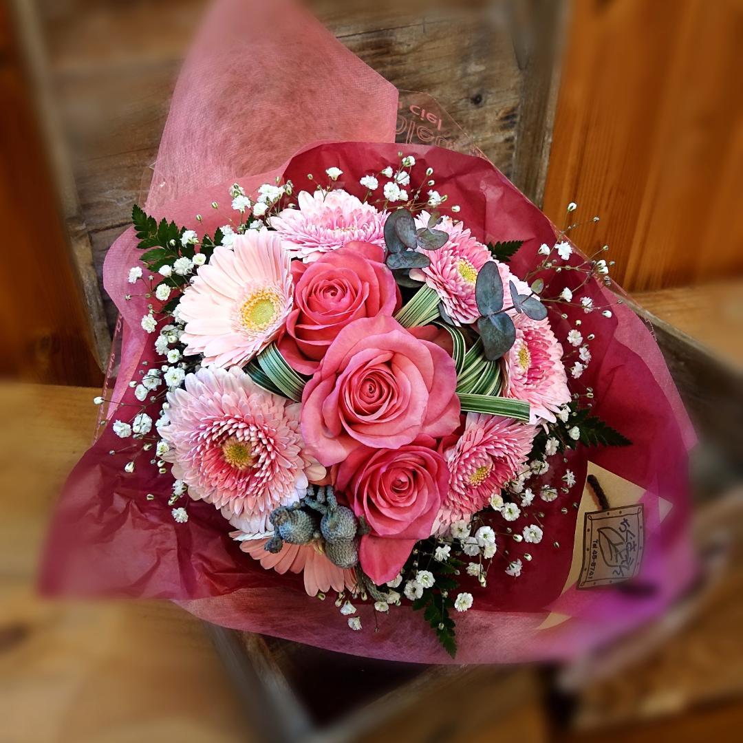 お祝い花束画像