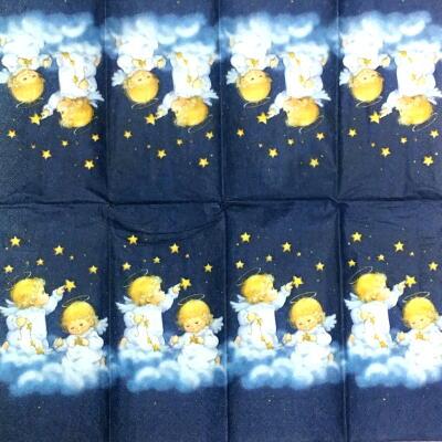 星を数える天使(21㎝ミニナプキン)の画像