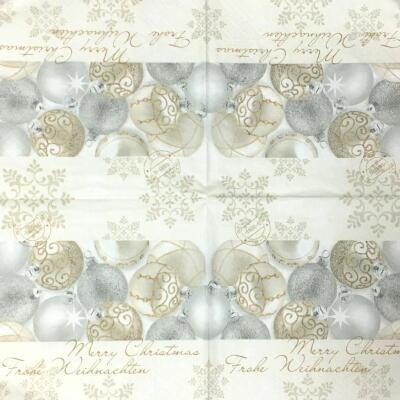 Silver shiny ballsの画像