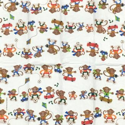 Skatug Monkeys(21cmティッシュサイズ)の画像