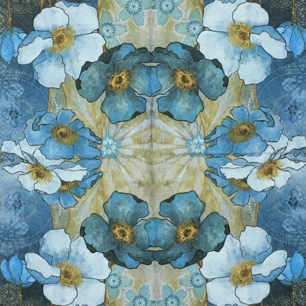 青いハーモニーの画像