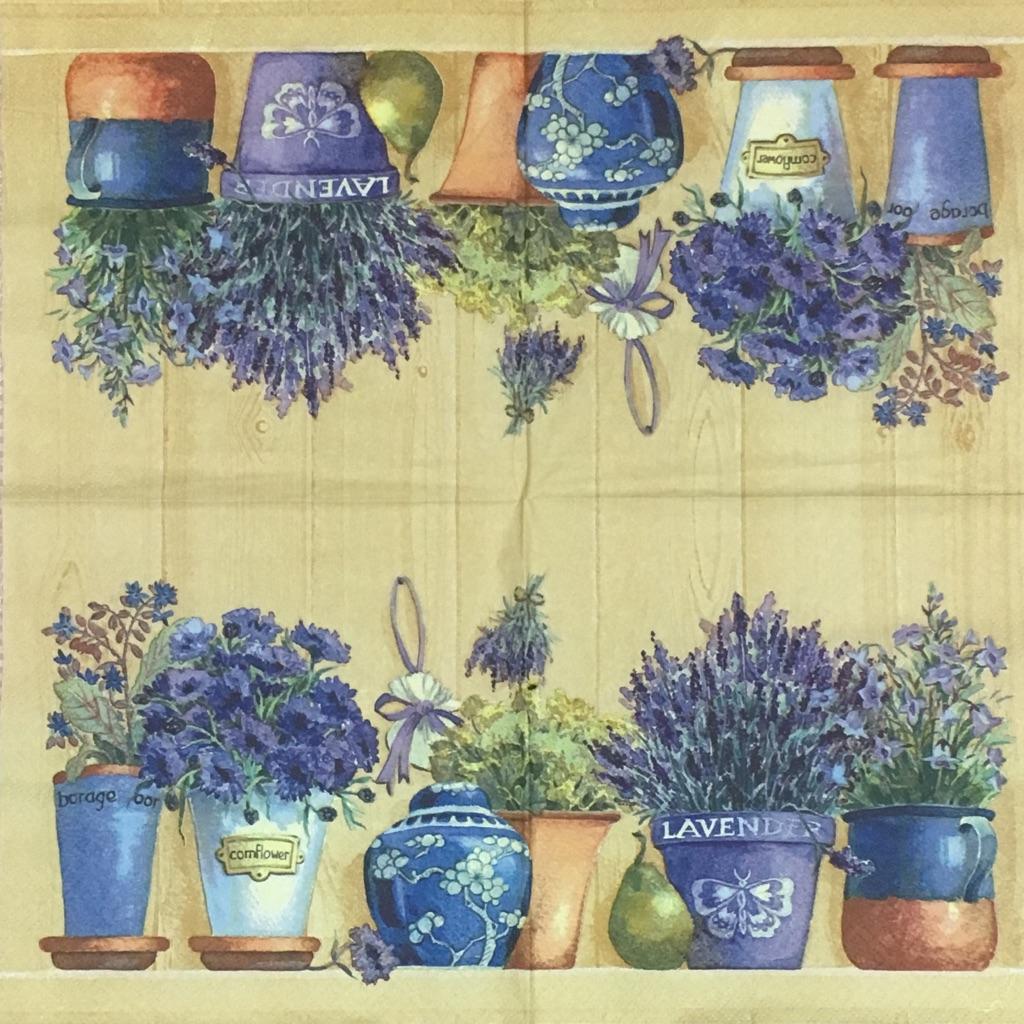 Lavender in Flowerpotsの画像