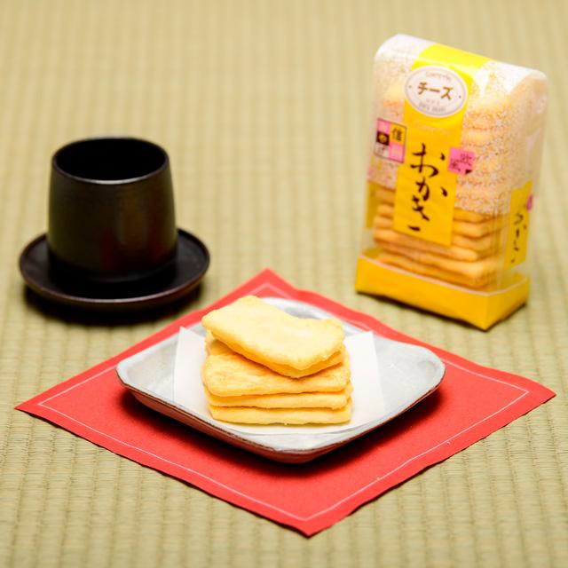 おかき チーズ【小袋】の画像