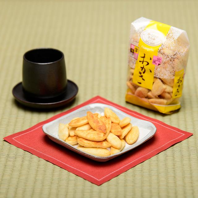 おかき ガーリックサラミ【小袋】の画像