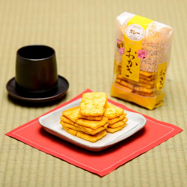 おかき カレー【小袋】の画像