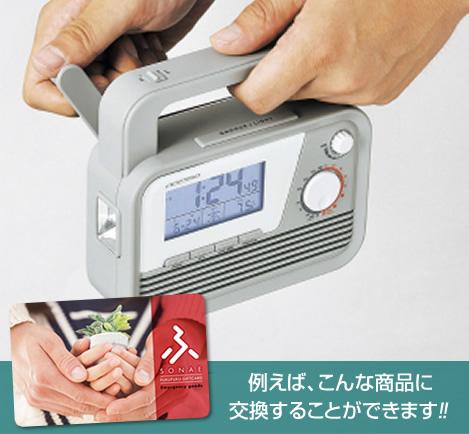 """""""寄付金付き""""ふくふくポイントギフト【防災】5,000円分画像"""