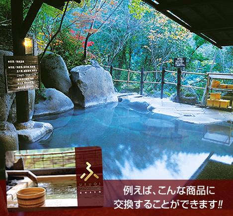ふくふくポイントギフト【温泉・ホテル】100,000円分の画像