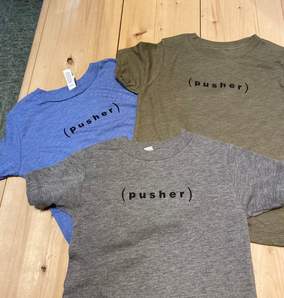Pusher トドラーTシャツ(幼児用)の画像