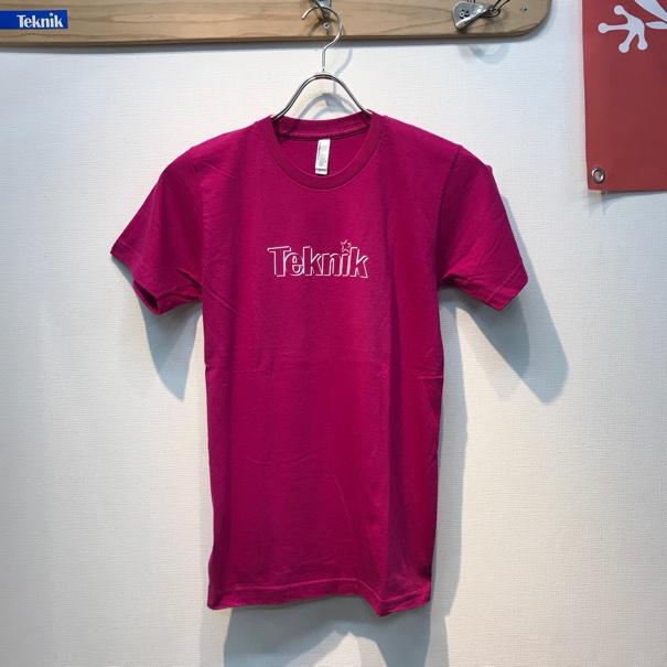 TEKNIK LOGO Tシャツ パープルの画像