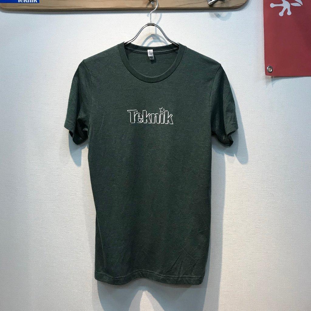 TEKNIK LOGO Tシャツ フォレストヘザーの画像