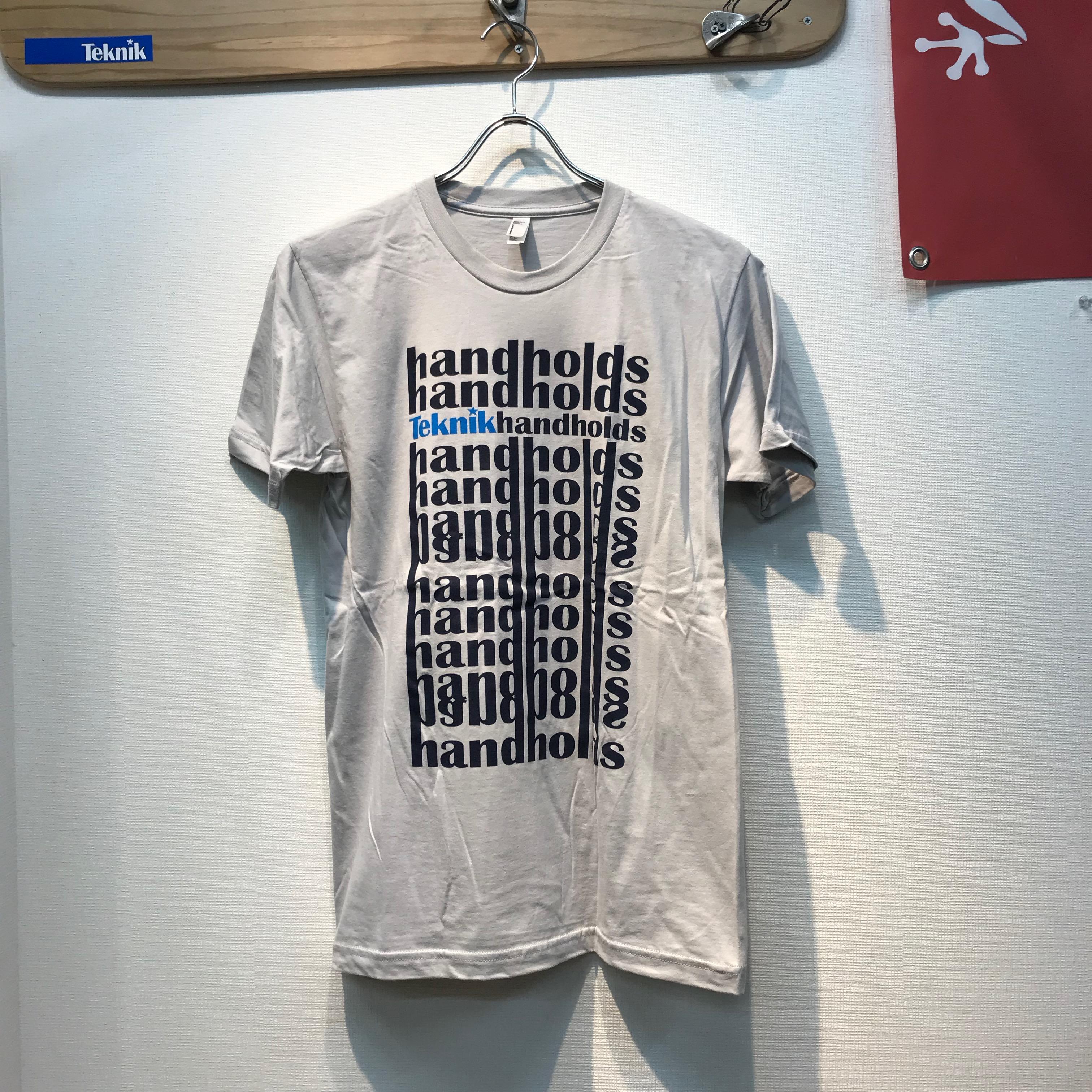 TEKNIK Hand Hold Tシャツ画像