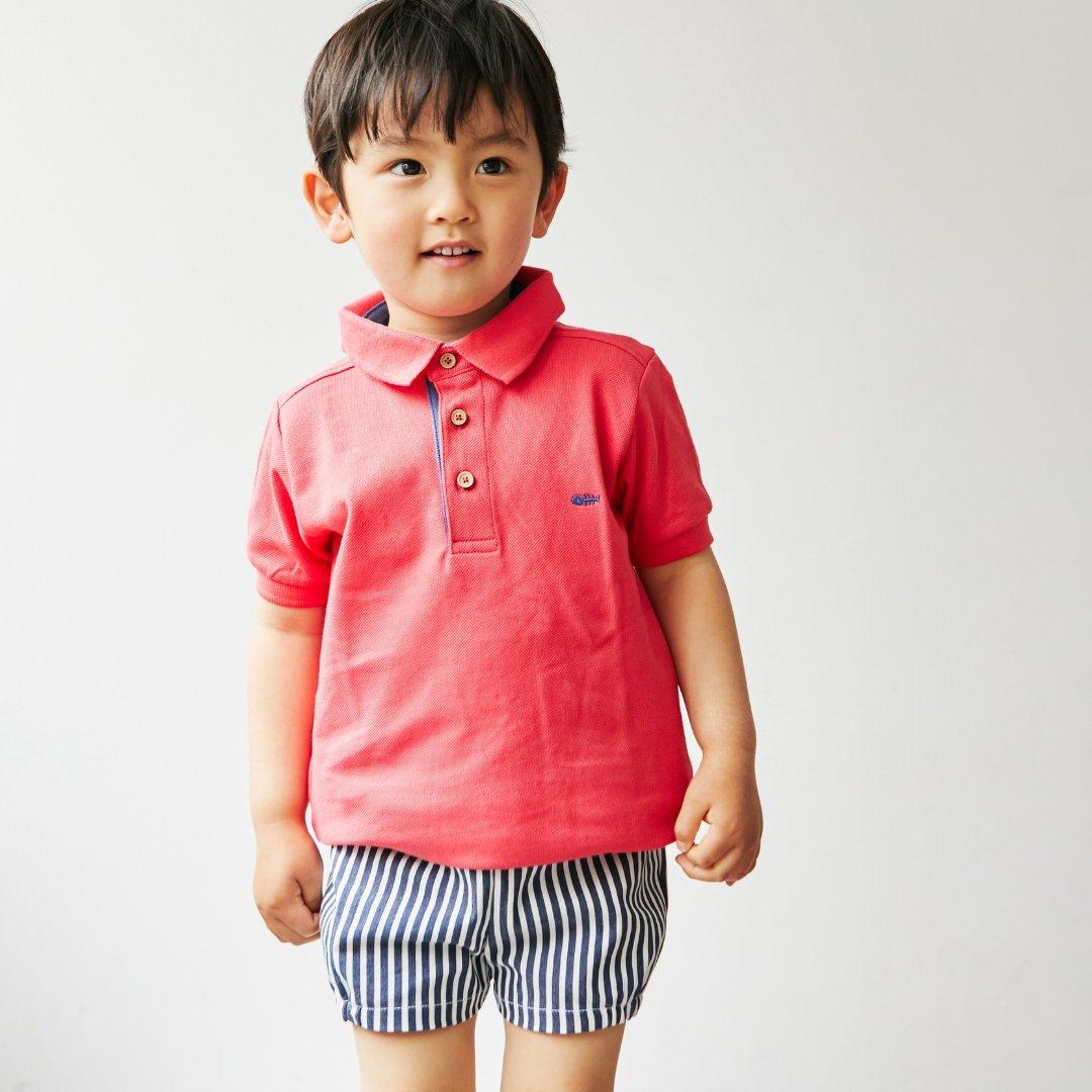 FinaEjerique★ワンポイントポロシャツ(2~8A)画像