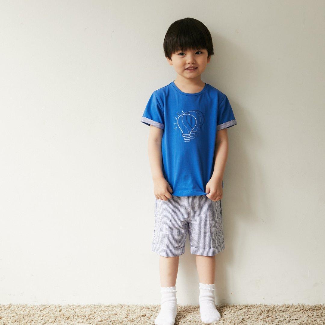 Malvi&Co★コバルトジャージーTシャツ(12m~8A)画像