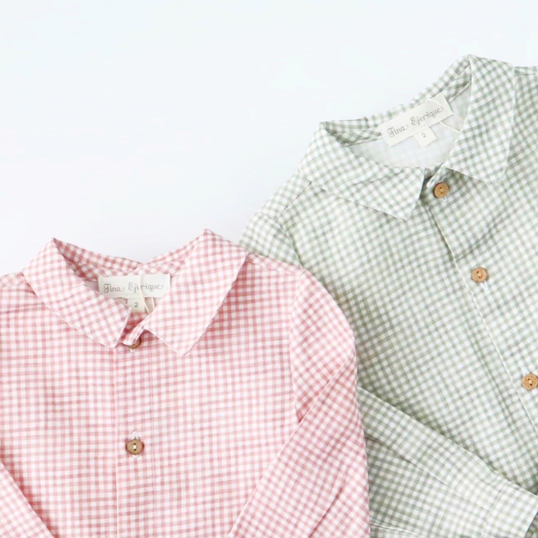 FinaEjerique★ビエラビッキーオープンシャツ(全2色)(12m~8A)画像