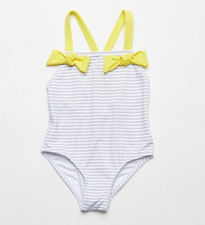 ▼30%-FinaEjerique★Swimwear(イエローボーダー)画像
