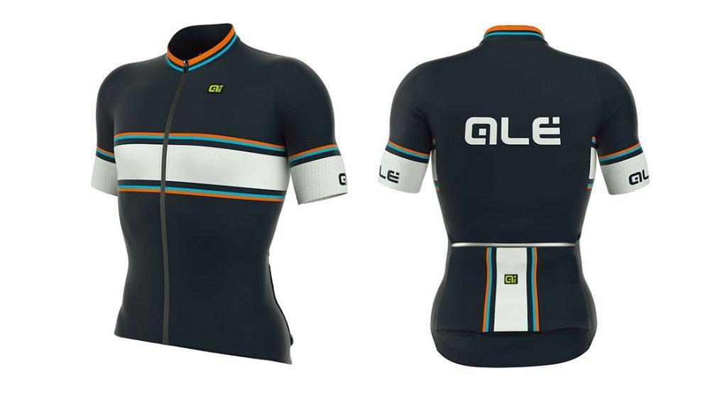 Ale SpeedFondo Jersey [アレ サイクルジャージ] ブルー/オレンジの画像