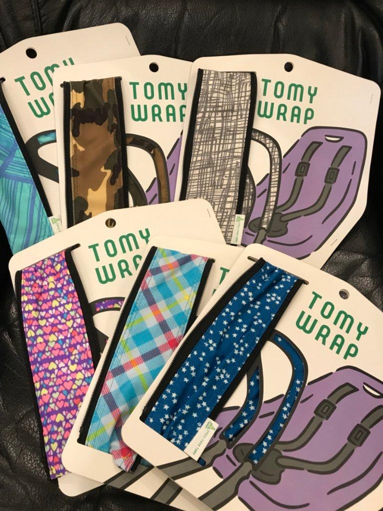 YEPP 用 ハンドルカバー 「TOMY WRAP」の画像