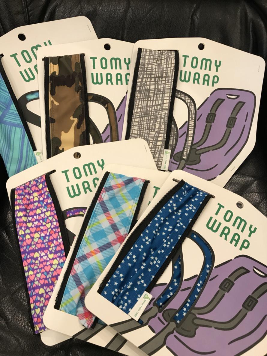 YEPP 用 ハンドルカバー 「TOMY WRAP」画像