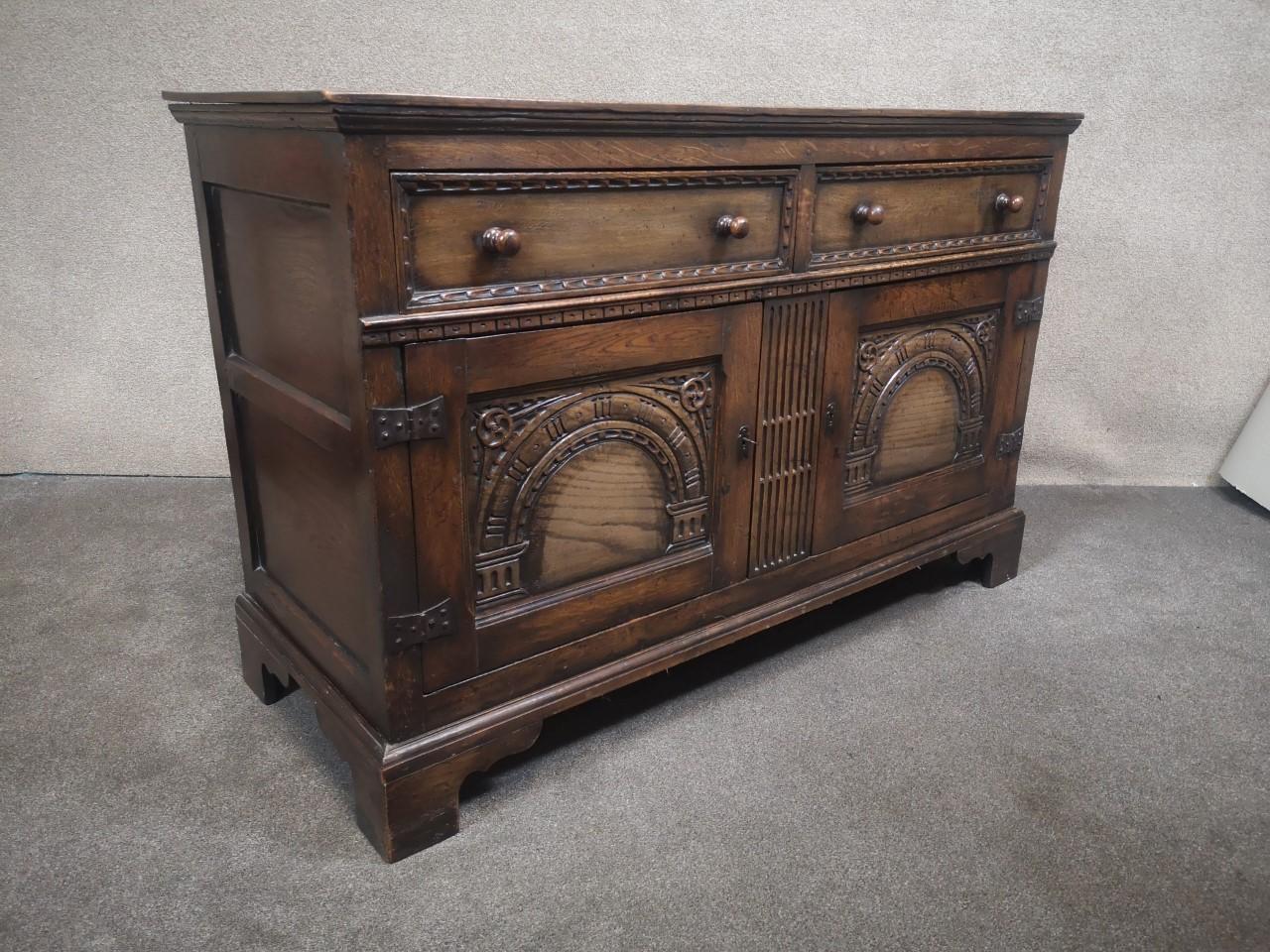 Oak dresser画像